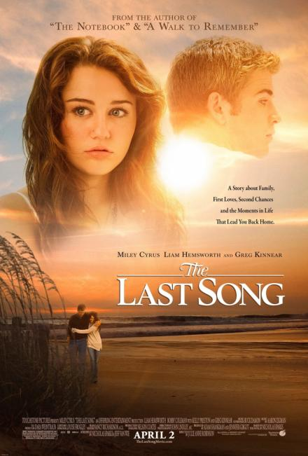 Miley Cyrus' anticipated film, The Last Song, hits theaters on April, 2010.